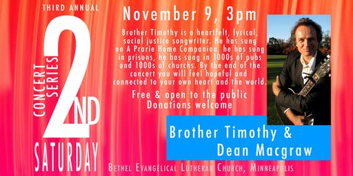 Brother Timothy & Dean Macgraw Concert