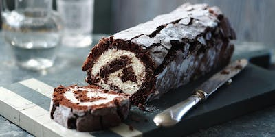 Decorated Roulade Cake $85