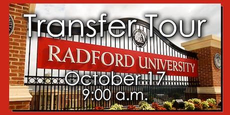 Transfer Tour: Radford University tickets