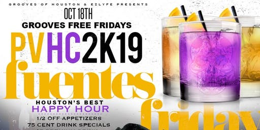 10.18  Fuentes Edition  at Grooves Free Fridays