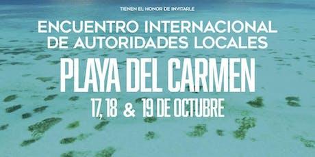Encuentro Internacional de Autoridades Locales entradas