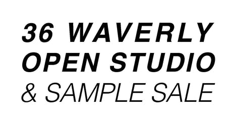 36 Waverly Open Studio and Sample Sale tickets
