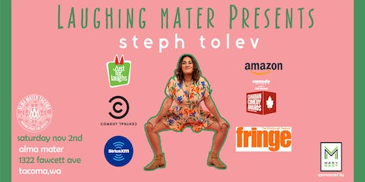 Laughing Mater with Steph Tolev