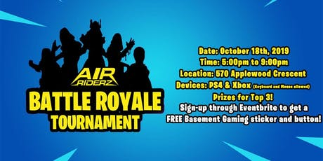 BATTLE ROYALE - Air Riderz (Vaughan) tickets