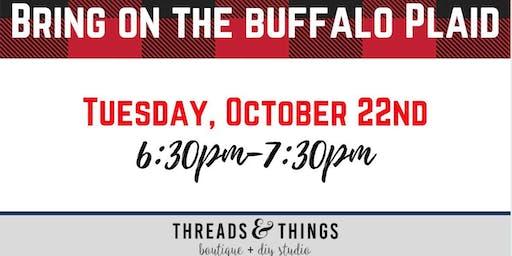 Bring on the Buffalo Plaid