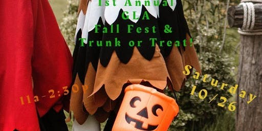 GLA Fall Fest, Trunk or Treat, Chili Cook Off & Ribbon Cutting!