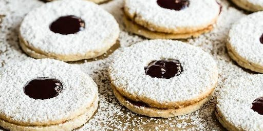 Annie's Signature Sweets Linzer cookies & Sugar cookies baking class