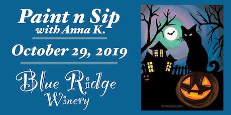 Paint n Sip- Halloween Eve tickets