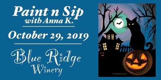 Paint n Sip- Halloween Eve