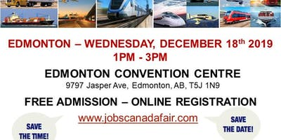 Edmonton Transportation Job Fair - December 18th, 2019