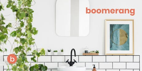 Boomerang Presents: Design Tips for your Kitchen and Bathroom tickets