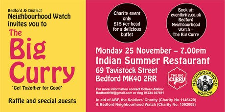 Bedford Neighbourhood Watch - The Big Curry tickets