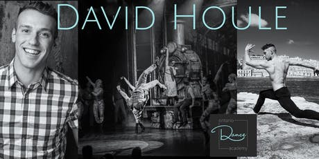 Acrobatic workshop with David Houle from Cirque Du Soleil tickets