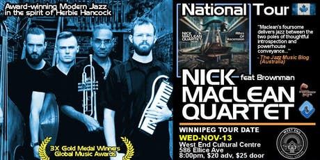 Nick Maclean Quartet feat. Brownman Ali tickets