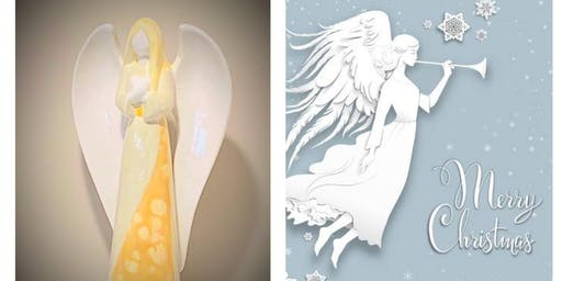 Paint-Your-Own Christmas Angel