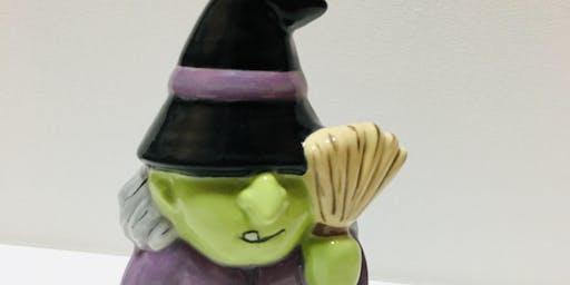 AFTER SCHOOL KIDS CLASS- Witch Figurine