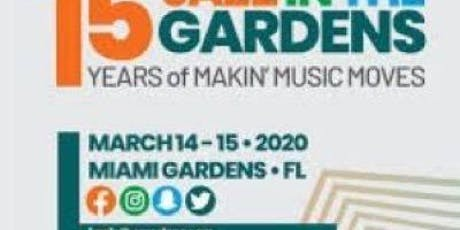 Jazz in the Gardens with Go See Do Vacations tickets