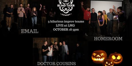 Blind Tiger House Teams presents 3 Pumpkins tickets