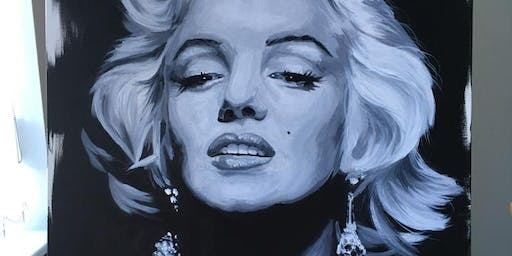 '7' EXHIBITION by CELEBRITY PORTRAIT PAINTER JAMIE WILKINSON
