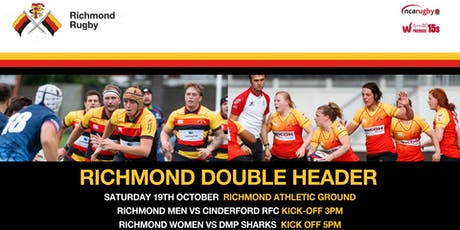 DOUBLE HEADER: Richmond Men vs Cinderford / Richmond Women vs Darlington MP tickets