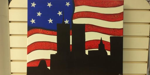 """Never Forget"" Painting with Lendsey"