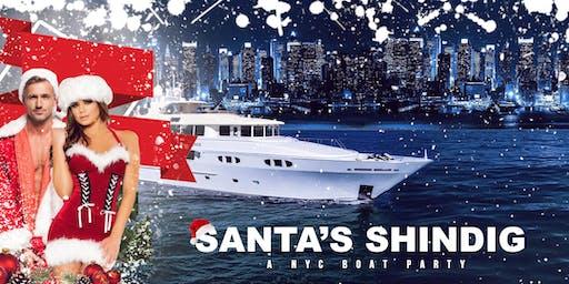 SANTA'S SHINDIG an NYC Boat Party Yacht Cruise