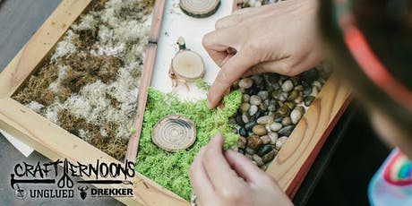 Crafternoons - Moss Wall Art tickets