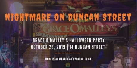 Nightmare on Duncan Street tickets