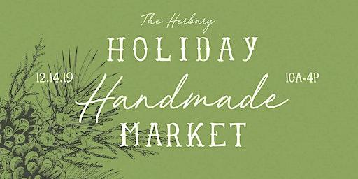 Holiday Handmade Market at The Herbary