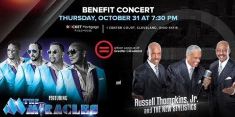 Benefit Concert featuring The Miracles and Russell Thompkins, Jr. and The New Stylistics tickets