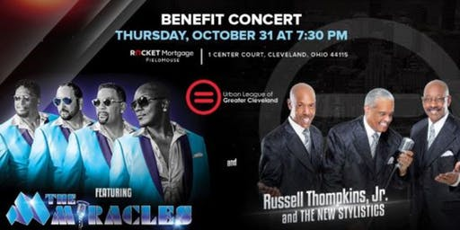 Benefit Concert featuring The Miracles and Russell Thompkins, Jr. and The New Stylistics