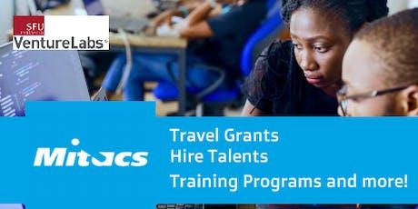 Mitacs Entrepreneur International Travel Grants Info Session tickets