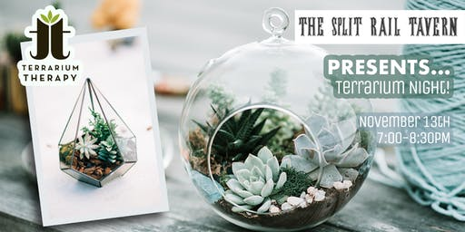 Terrarium Night at Split Rail Tavern