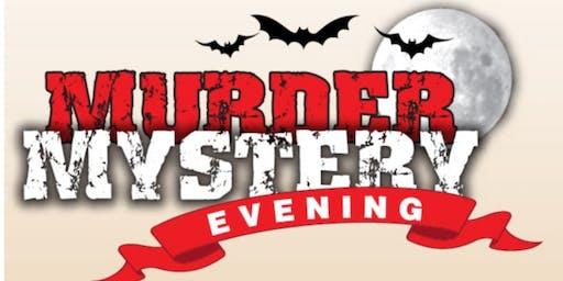 """Murder Mystery Dinner - """"A Grave Plot of Murder"""""""