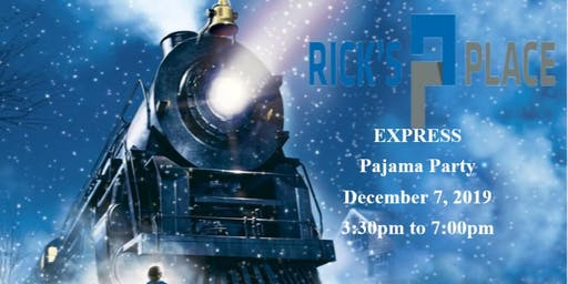 "December Fun Day - ""Rick's Place Express: Pajama Party"" - 7 December 2019"
