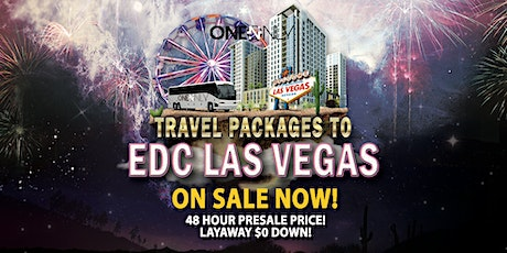Travel Accommodations to EDC Las Vegas 2020 tickets