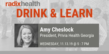 Radix Health Drink & Learn: Amy Cheslock tickets