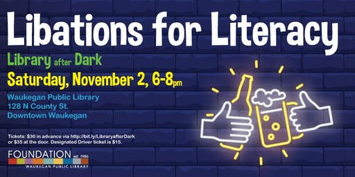 Libations for Literacy: Library After Dark