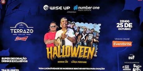 Halloween Wise Up & #NumberOne | Terrazo Music Bar ingressos