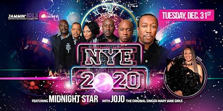 VIP Tickets NYE 2020 Countdown w Midnight Star & Mary Jane Girls tickets