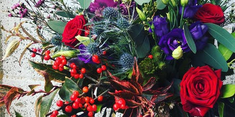 Seasonal handtied bouquet workshop with Gray & Greenery  tickets