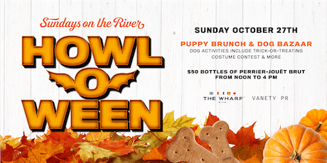 Howl-O-Ween: Puppy Brunch & Dog Bazaar with Vanety PR tickets