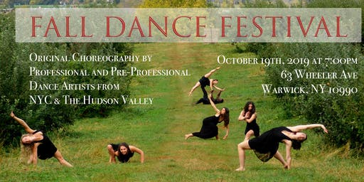 Hudson Valley Fall Dance Festival 2019