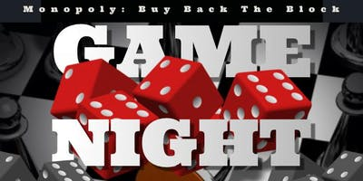 Monopoly: Buy Back The Block Game Night & Forum