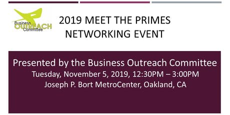 2019 BOC Meet the Primes Networking Event  tickets