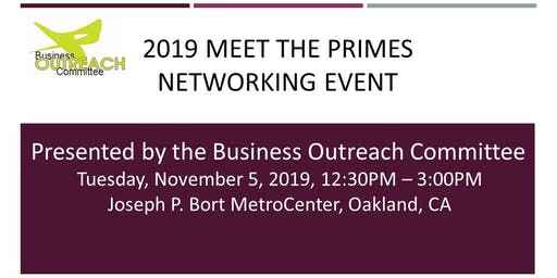 2019 BOC Meet the Primes Networking Event