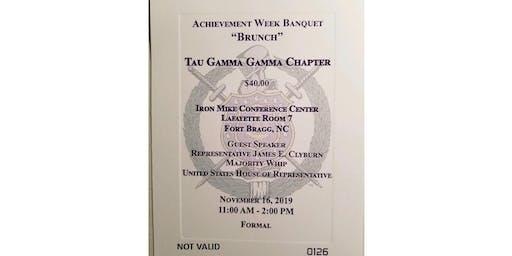 """Tau Gamma Gamma Achievement Week Banquet """"Brunch"""""""