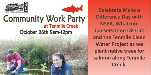 Make A Difference Day at Tenmile Creek