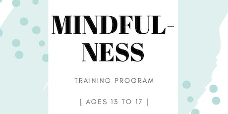 Mindfulness Training for Teens tickets
