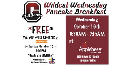 Wildcat Wednesday Pancake Breakfast